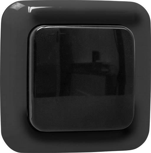 Rádiójel vezérlésű fali kapcsoló, 1 csatornás, fekete színű Smartwares SH5-TSW-C