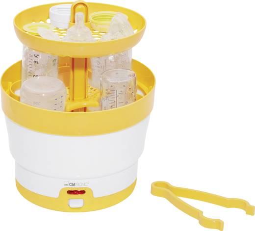 Cumisüveg sterilizáló, sárga/fehér, Clatronic BFS 3616