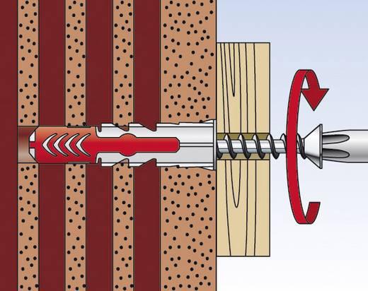 Fischer 555106 DUOPOWER 2 K dübel süllyesztettfejű csavarral 6 mm 50 db