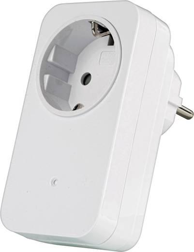 Vezeték nélküli dimmeres konnektoros vevő, max. 30m, Trust 78092 AC-200