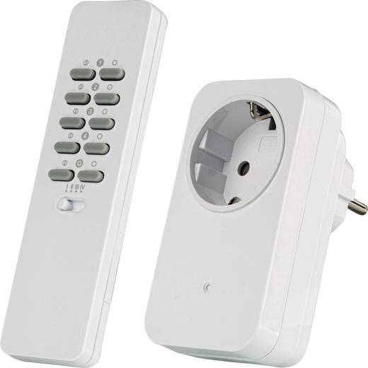 Vezeték nélküli konnektoros kapcsoló készlet, 2 részes, max. 30m, Trust 78003 AC-1000R