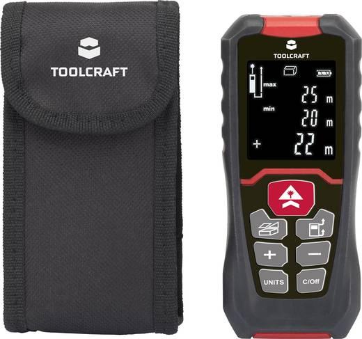 Lézeres távolságmérő max. 50m-ig, Toolcraft 1400304