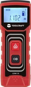 Lézeres távolságmérő max.15m-ig Toolcraft 1400306 TOOLCRAFT