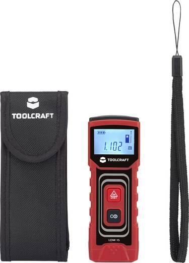 Lézeres távolságmérő max.15m-ig Toolcraft 1400306