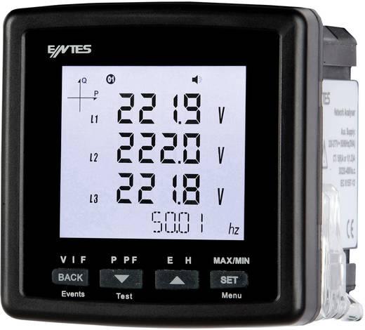 Többfunkciós hálózati analizátor, hálózati feszültség elemző műszer ENTES MPR-32-72