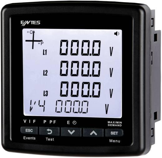 Beépítehtő multiméter,100226 ENTES MPR-46S-96