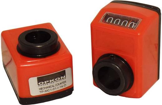 Mechanikus pozíció kijelző 100259, üreges tengely 14 mm, áttétel 1:1, Opkon TP-MC1-01-I-14