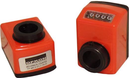 Mechanikus pozíció kijelző 100260, üreges tengely, 14 mm áttétel 1:1, Opkon TP-MC2-01-I-14