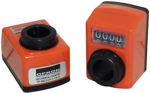 Mechanikus pozíció kijelző 100261 üreges tengely 14 mm, áttétel 1:1, Opkon TP-MC3-01-I-14