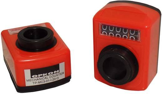 Mechanikus pozíció kijelző 100265, üreges tengely 20 mm, áttétel 1:1, Opkon TP-MC3-01-I-20