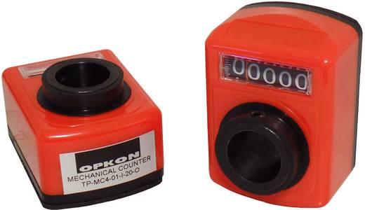 Mechanikus pozíció kijelző 100266, üreges tengely 20 mm, áttétel 1:1, Opkon TP-MC4-01-I-20