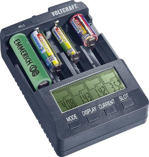 Ceruza AA, mikroceruza AAA automata akkumulátor töltő, regeneráló hengeres akkukhoz Voltcraft IPC-3