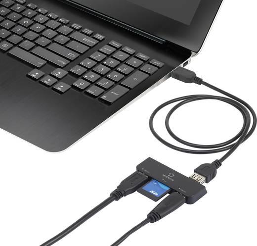 Renkforce USB 3.0 hub és kártyaolvasó Windows Surface-hez