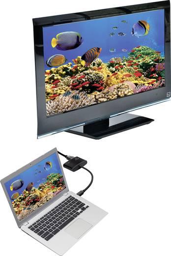 Átalakító, mini DisplayPortról HDMI + VGA-ra, Renkforce
