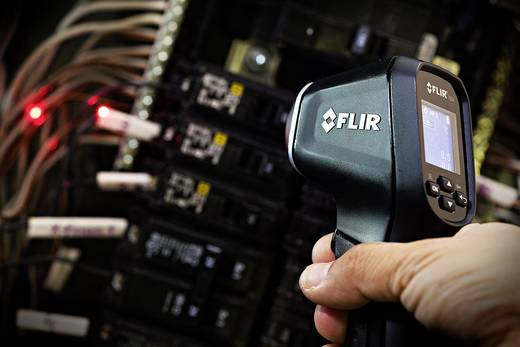 FLIR infrahőmérő, lézeres célzóval 24:1 optikával -30-tól 650 °C-ig FLIR TG54