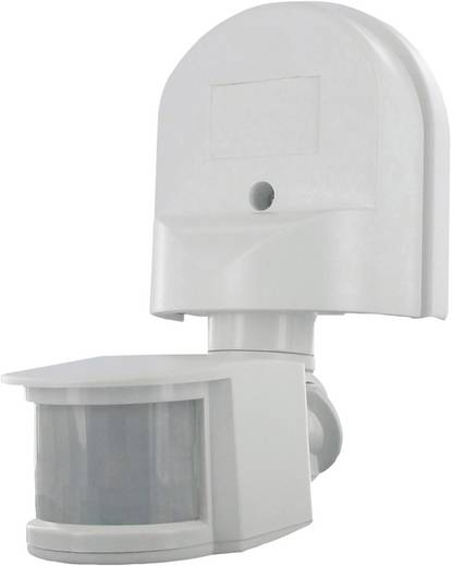 PIR szenzor, fali mozgásérzékelő, triakos, 180 °, IP44, fehér, Smartwares SW ES90W