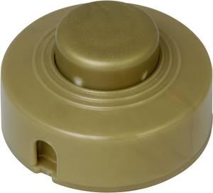 Lábkapcsoló törésgátlóval, arany, 1 x ki/be, 2 A ,Kopp 191807084 Kopp