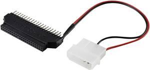 IDE átalakító adapter [1x IDE dugó, 40 pólus/IDE dugó, 4 pólus - 1x IDE alj, 44 pólus] fekete renkforce Renkforce