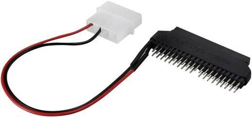 IDE átalakító adapter [1x IDE dugó, 40 pólus/IDE dugó, 4 pólus - 1x IDE alj, 44 pólus] fekete renkforce