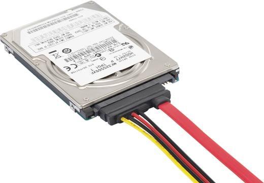 SATA kombi kábel (adat/táp), 0,5 m, renkforce