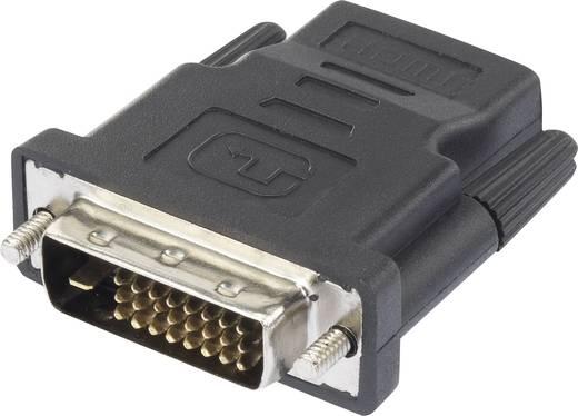 Átalakító HDMI-ről DVI-ra [1x HDMI alj - 1x DVI dugó, 24+1 pólus] renkforce