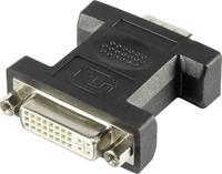 VGA - DVI átalakító adapter, 1x VGA dugó - 1x DVI aljzat 24+5 pól., fehér, Renkforce (RF-4212234) Renkforce