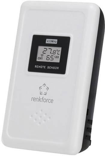 Hőmérséklet-/légnedvesség érzékelő Renkforce E0001HA