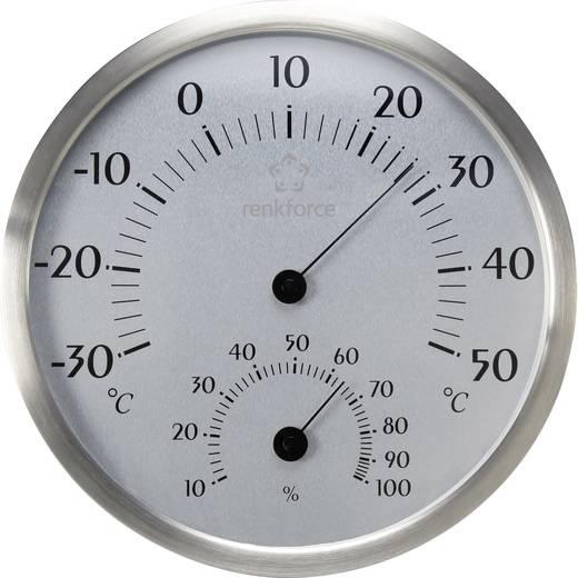 Hőmérséklet- és légnedvesség mérő Renkforce Nemesa