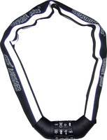 Számzáras kerékpárzár, fekete-fehér, fényvisszaverős, Security Plus SKS 100 (12026501) Security Plus