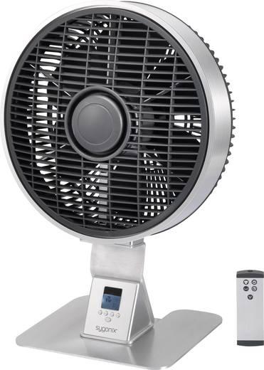 Asztali ventilátor 50 W, Ø 28 cm, ezüst, sygonix Ostro