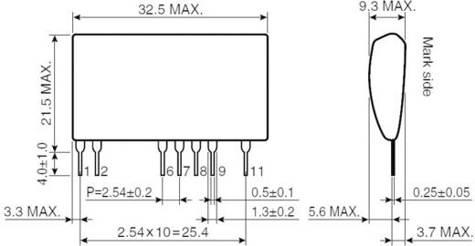 AC/DC átalakító, kimenet: 12 V/DC, kimenet: 1 A, ROHM Semiconductor BP5722-12
