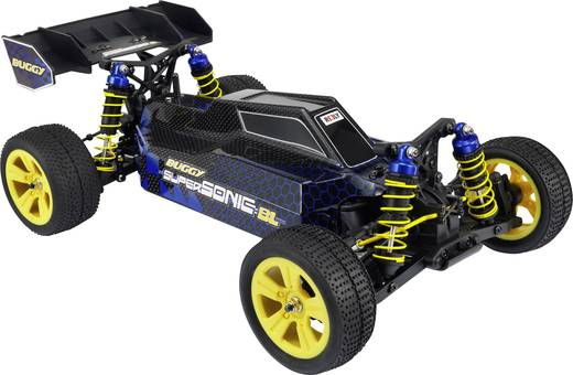 Reely Supersonic Brushless 1:10 RC modellautó Elektro Buggy 4WD RtR 2,4 GHz