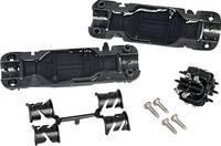 Vezetékösszekötő Kábel átmérő tartomány: 6.50 - 12 mm Relicon by HellermannTyton 435-01652 RELILIGHT V61.5 I2 PA66V0 BK1 Relicon by HellermannTyton