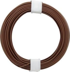 Kapcsolóvezeték 1 x 0.20 mm² Barna BELI-BECO D 105/10 10 m BELI-BECO