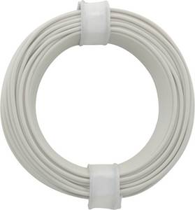 Kapcsolóvezeték 1 x 0.20 mm² Fehér BELI-BECO D 105/10 10 m BELI-BECO