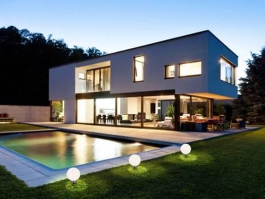 LED-es leszúrható napelemes kerti lámpa, 0,7W, hidegfehér/RGB, Renkforce 1405085