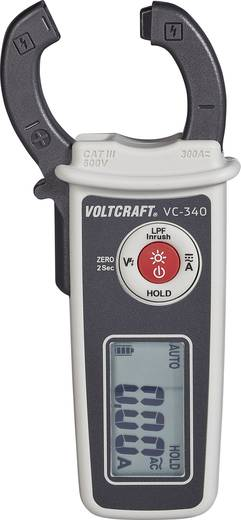 VOLTCRAFT Lakatfogó digitális Kalibrált: ISO CAT II 600 V, CAT III 300 V Kijelző (digitek): 6000