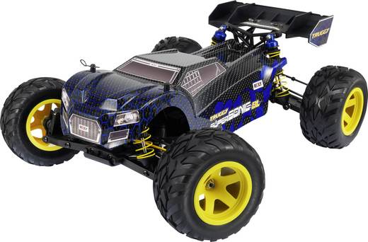 Reely Supersonic Brushless 1:10 RC modellautó Elektro Truggy 4WD RtR 2,4 GHz