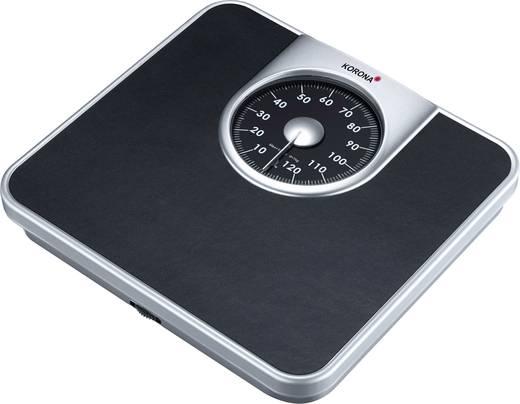 Analóg személymérleg max. 130 kg, antracit, Korona Mika