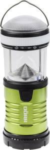 LED Kemping lámpás Dörr Foto Premium-Steel PS-15575 Elemekről üzemeltetett 164 g Zöld, Fekete 980544 Dörr Foto