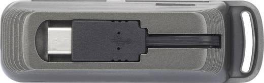 USB-s kártyaolvasó, okostelefon/tablet, fekete, renkforce USB-C