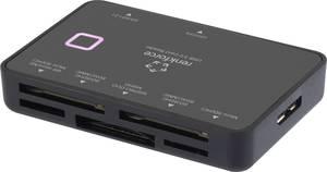Külső memóriakártya olvasó USB 3.0, fekete, renkforce CR33e-S Renkforce