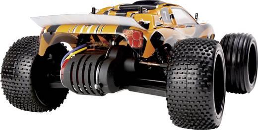Reely Dart Brushed 1:10 RC modellautó Elektro Truggy 2WD 100% RtR 2,4 GHz
