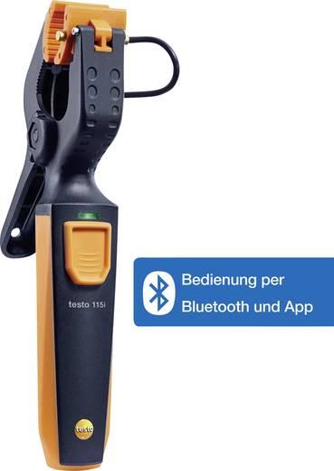 Testo csőhőmérséklet mérő műszer -40 től +150 °C-ig bluetooth funkcióval, Smart készülékekhez Testo 115i Smart