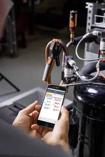 Testo hűtőközeg nyomásmérő műszer, bluetooth funkcióval, Smart készülékekhez Testo 549i Smart 0563 0002