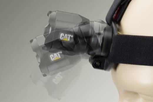 LED-es fejlámpa, elemes, 250 g, fekete, CAT Focusing Headlamp CT4200