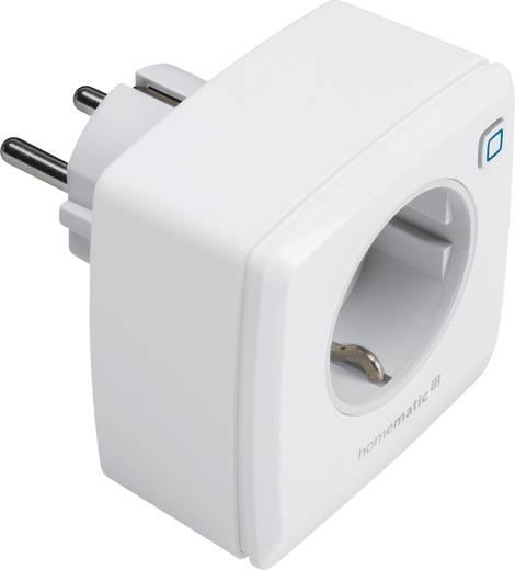 IP vezérelhető konnektor, rádiójel vezérelt dugaszoló aljzat HomeMatic IP HMIP-PS 141836A0A