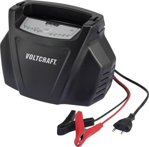 Ólomakku, ólomzselés akkutöltő 6 V, 12 V, 24 V-os akkukhoz Voltcraft BC-10