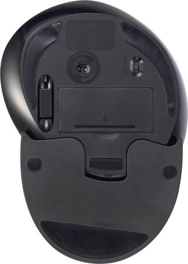 Vezeték nélküli lézeres egér, fekete, renkforce M618GL