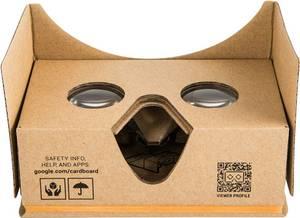 Basetech Headmount Google 3D VR Barna Virtiális valóság szemüveg Basetech